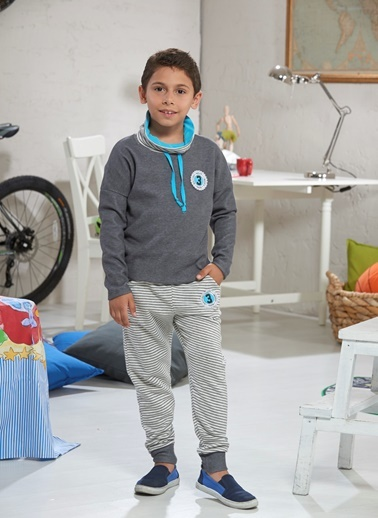 Erkek Çocuk Eşofman Takım-Zeyzey